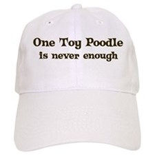 One Toy Poodle Baseball Cap
