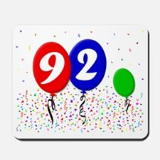 92bdayballoon3x4 Mousepad