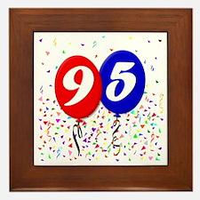95bdayballoon Framed Tile
