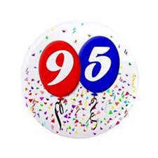 "95bdayballoon 3.5"" Button"