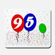 95bdayballoon3x4 Mousepad
