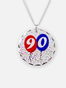 90bdayballoon Necklace