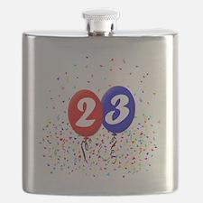 23bdayballoonbtn Flask