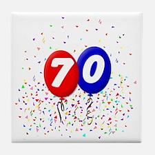 70_bdayballoonbtn Tile Coaster