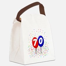70_bdayballoonbtn Canvas Lunch Bag
