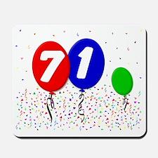 71_bdayballoon3x4 Mousepad