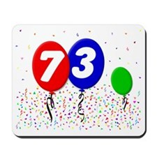 73_bdayballoon3x4 Mousepad
