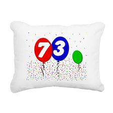 73_bdayballoon3x4 Rectangular Canvas Pillow