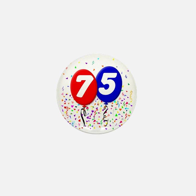 75_bdayballoon Mini Button