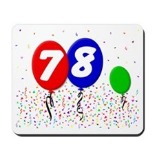 78_bdayballoon3x4 Mousepad
