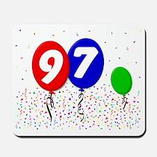 97_bdayballoon3x4 Mousepad