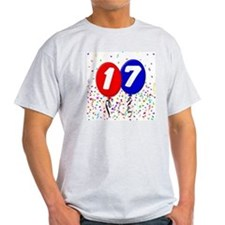 17_bdayballoon T-Shirt