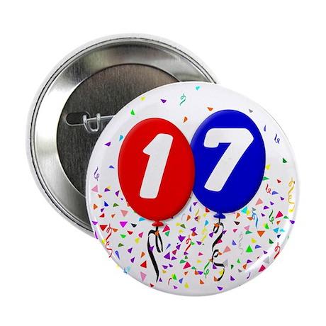"""17_bdayballoon 2.25"""" Button"""