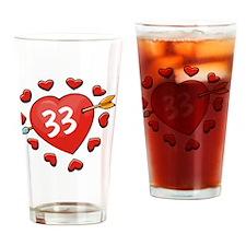 33ahrt Drinking Glass