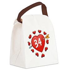 34ahrtbtn Canvas Lunch Bag