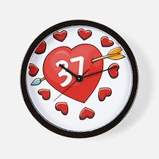 37ahrt Wall Clock