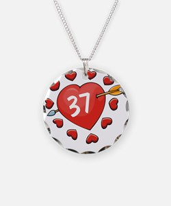 37ahrt Necklace Circle Charm