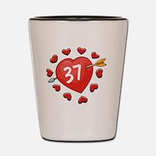37ahrt Shot Glass