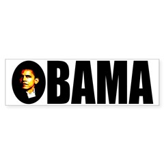 Barack Obama Icon Bumper Bumper Sticker