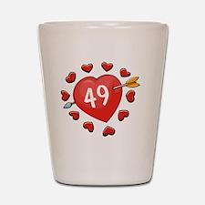 49ahrt Shot Glass