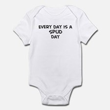 Spud day Infant Bodysuit