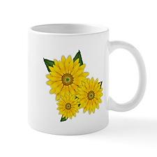 Trio of Sunflowers Mug