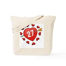 27ahrts Tote Bag