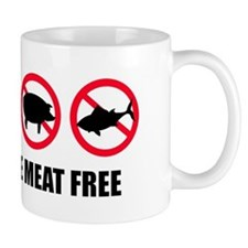 Proud To Be Meat Free | Mug