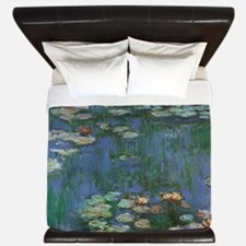 Waterlilies by Claude Monet King Duvet