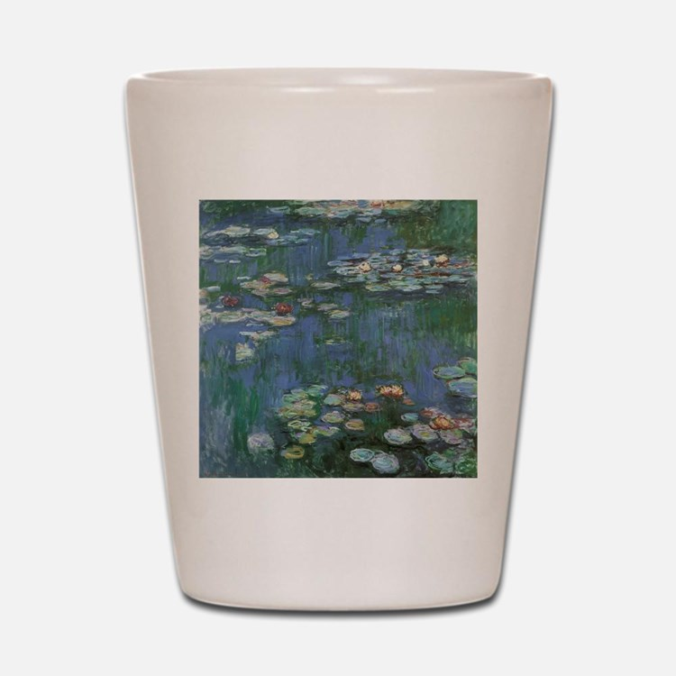 Waterlilies by Claude Monet Shot Glass