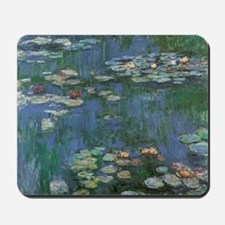Waterlilies by Claude Monet Mousepad