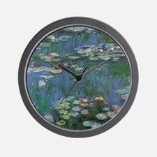 Waterlilies by Claude Monet Wall Clock