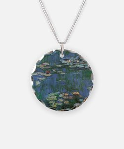 Waterlilies by Claude Monet Necklace