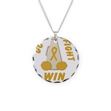Gold Go Fight Win Necklace