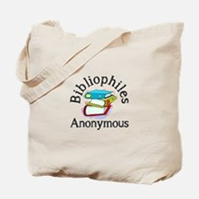 Bibliophiles Anonymous Tote Bag