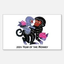 2004 Year Of The Monkey Decal