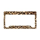 Leopard License Plate Frames