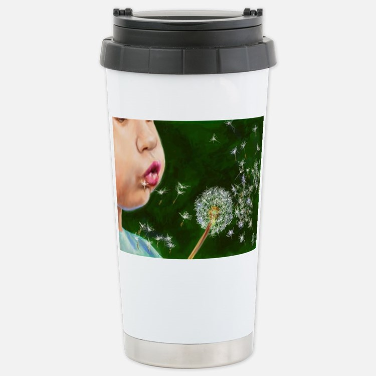 Make a Wish Stainless Steel Travel Mug
