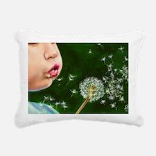 Make a Wish Rectangular Canvas Pillow