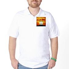 Spanish Calvary Sunrise T-Shirt