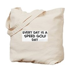 Speed Golf day Tote Bag