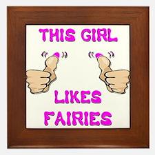 This Girl Likes Faires Framed Tile