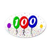 100th anniversary Car Magnets