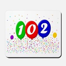 102nd Birthday Mousepad