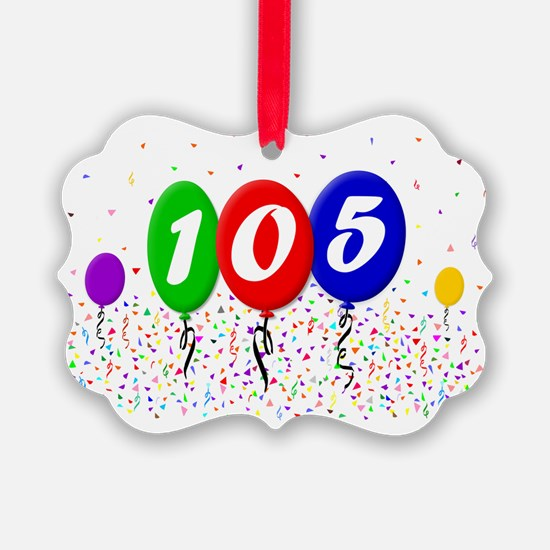 105th Birthday Ornament