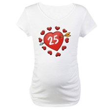 25th Valentine Heart Shirt