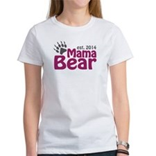 Mama Bear New Mom 2014 Tee