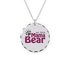 Mama Bear New Mom 2014 Necklace