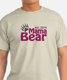 Mama Bear New Mom 2014 T-Shirt