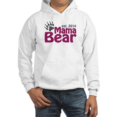 Mama Bear New Mom 2014 Hooded Sweatshirt
